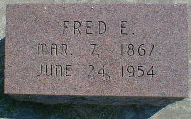 MOFFETT, FRED E. - Cerro Gordo County, Iowa | FRED E. MOFFETT