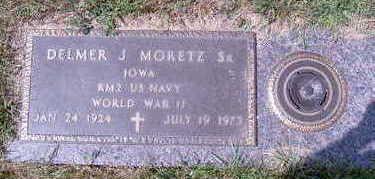 MORETZ, DELMER JOHN SR - Cerro Gordo County, Iowa | DELMER JOHN SR MORETZ