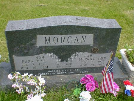 MORGAN, EDNA MAE - Cerro Gordo County, Iowa | EDNA MAE MORGAN