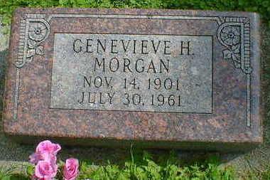 MORGAN, GENEVIEVE H. - Cerro Gordo County, Iowa | GENEVIEVE H. MORGAN