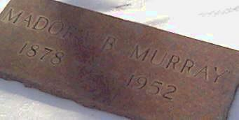 MURRAY, MADORA - Cerro Gordo County, Iowa | MADORA MURRAY