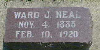 NEAL, WARD J. - Cerro Gordo County, Iowa | WARD J. NEAL