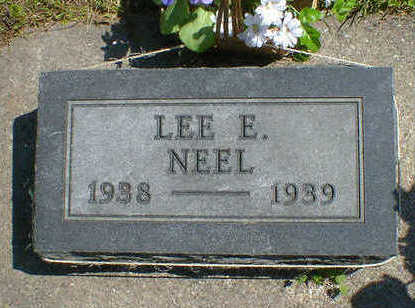 NEEL, LEE E. - Cerro Gordo County, Iowa | LEE E. NEEL