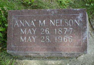NELSON, ANNA M. - Cerro Gordo County, Iowa | ANNA M. NELSON