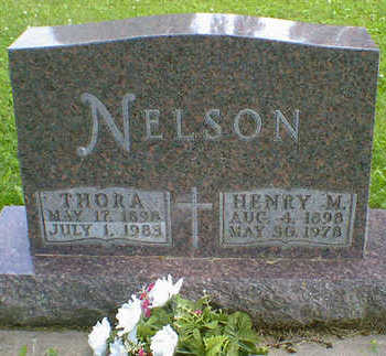NELSON, THORA - Cerro Gordo County, Iowa | THORA NELSON