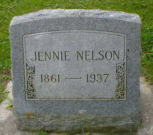 NELSON, JENNIE - Cerro Gordo County, Iowa | JENNIE NELSON
