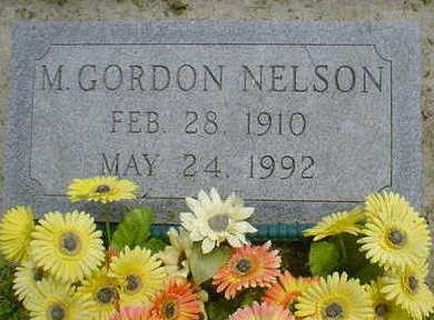 NELSON, M. GORDON - Cerro Gordo County, Iowa | M. GORDON NELSON
