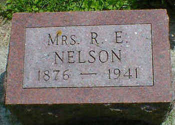 NELSON, MRS. R. E. - Cerro Gordo County, Iowa | MRS. R. E. NELSON
