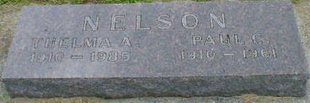 NELSON, PAUL C. - Cerro Gordo County, Iowa | PAUL C. NELSON