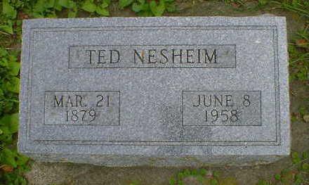 NESHEIM, TED - Cerro Gordo County, Iowa   TED NESHEIM