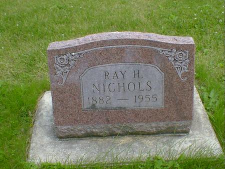 NICHOLS, RAY H. - Cerro Gordo County, Iowa | RAY H. NICHOLS
