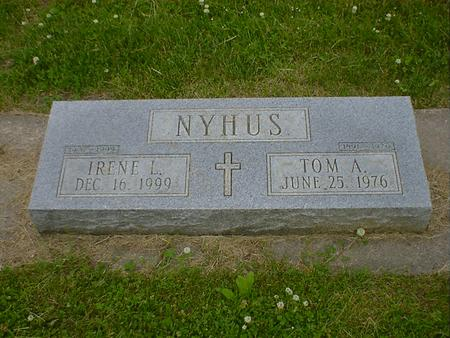 NYHUS, TOM A. - Cerro Gordo County, Iowa | TOM A. NYHUS