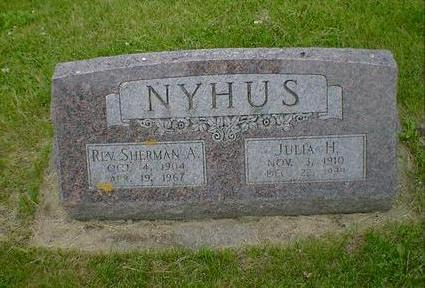 NYHUS, JULIA H. - Cerro Gordo County, Iowa | JULIA H. NYHUS