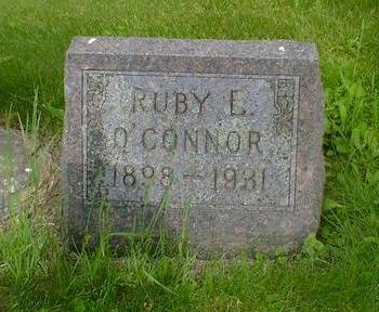 O'CONNER, RUBY E. - Cerro Gordo County, Iowa | RUBY E. O'CONNER