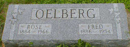 OELBERG, FRED - Cerro Gordo County, Iowa | FRED OELBERG