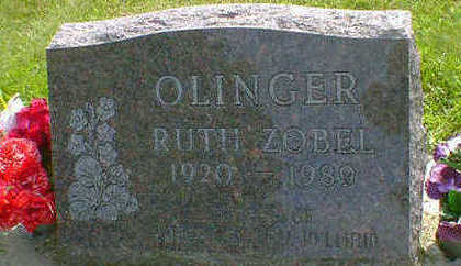 ZOBEL OLINGER, RUTH - Cerro Gordo County, Iowa | RUTH ZOBEL OLINGER