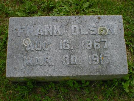 OLSEN, FRANK - Cerro Gordo County, Iowa | FRANK OLSEN
