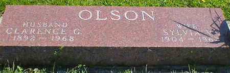 OLSON, CLARENCE G. - Cerro Gordo County, Iowa | CLARENCE G. OLSON