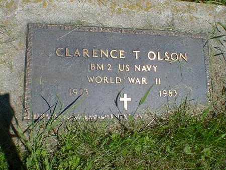 OLSON, CLARENCE T. - Cerro Gordo County, Iowa | CLARENCE T. OLSON