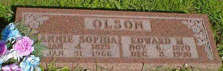 OLSON, ANNIE SOPHIA (ANDERSON) - Cerro Gordo County, Iowa | ANNIE SOPHIA (ANDERSON) OLSON