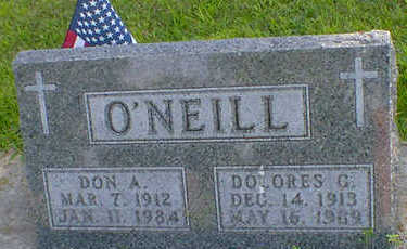 O'NEILL, DON A. - Cerro Gordo County, Iowa | DON A. O'NEILL