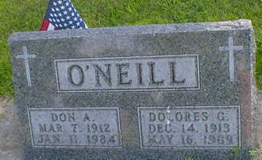 O'NEILL, DOLORES G. - Cerro Gordo County, Iowa | DOLORES G. O'NEILL