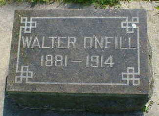 O'NEILL, WALTER - Cerro Gordo County, Iowa | WALTER O'NEILL