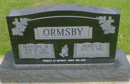 ORMSBY, MAXINE MARY (THRONSON) - Cerro Gordo County, Iowa | MAXINE MARY (THRONSON) ORMSBY