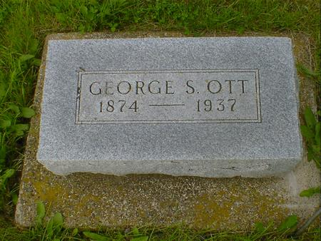 OTT, GEORGE S. - Cerro Gordo County, Iowa | GEORGE S. OTT