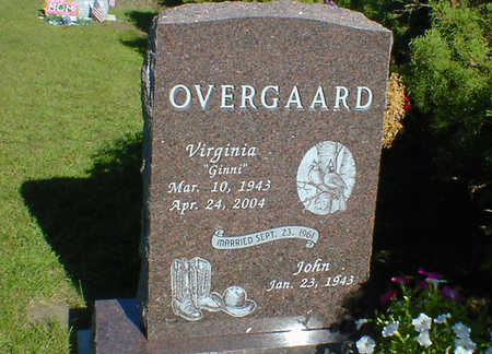OVERGAARD, VIRGINIA - Cerro Gordo County, Iowa | VIRGINIA OVERGAARD