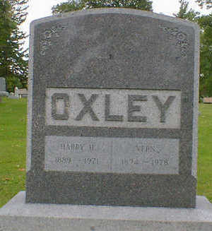 OXLEY, HARRY H. - Cerro Gordo County, Iowa | HARRY H. OXLEY