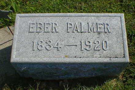 PALMER, EBER - Cerro Gordo County, Iowa | EBER PALMER