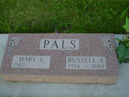PALS, RUSSELL A. - Cerro Gordo County, Iowa | RUSSELL A. PALS