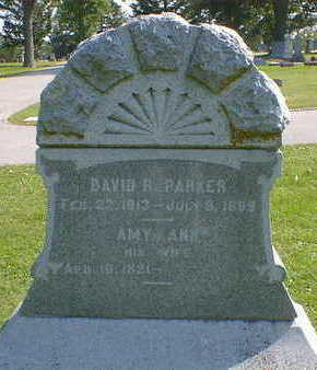 PARKER, DAVID R. - Cerro Gordo County, Iowa | DAVID R. PARKER