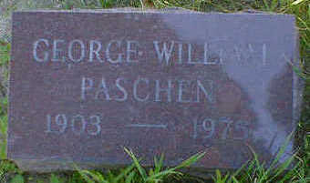 PASCHEN, GEORGE WILLIAM - Cerro Gordo County, Iowa | GEORGE WILLIAM PASCHEN