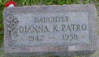 PATRO, DIANNA K. - Cerro Gordo County, Iowa | DIANNA K. PATRO