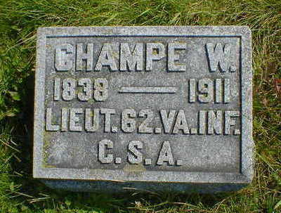 PATTIE, CHAMPE W. - Cerro Gordo County, Iowa | CHAMPE W. PATTIE