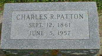 PATTON, CHARLES R. - Cerro Gordo County, Iowa | CHARLES R. PATTON