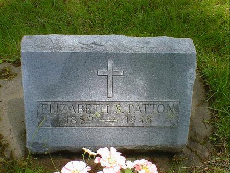 PATTON, ELIZABETH S. - Cerro Gordo County, Iowa | ELIZABETH S. PATTON