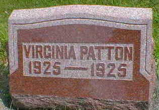PATTON, VIRGINIA - Cerro Gordo County, Iowa | VIRGINIA PATTON