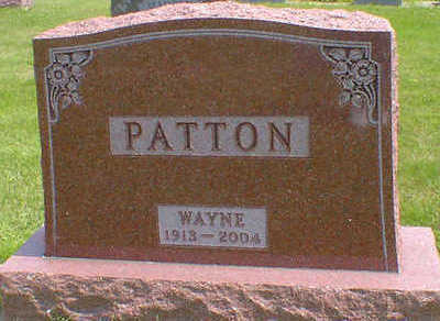 PATTON, WAYNE - Cerro Gordo County, Iowa | WAYNE PATTON