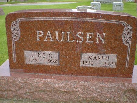 PAULSEN, JENS C. - Cerro Gordo County, Iowa | JENS C. PAULSEN
