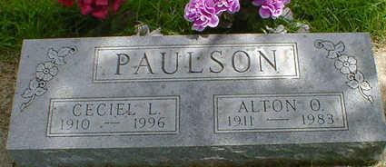 PAULSON, CECIEL L. - Cerro Gordo County, Iowa | CECIEL L. PAULSON