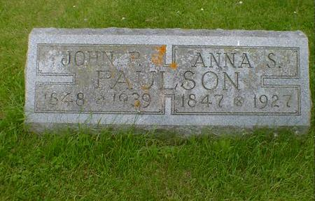 PAULSON, JOHN P. - Cerro Gordo County, Iowa | JOHN P. PAULSON