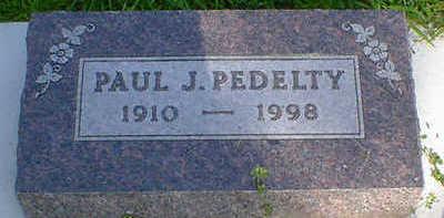 PEDELTY, PAUL J. - Cerro Gordo County, Iowa   PAUL J. PEDELTY
