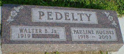 HUGHES PEDELTY, PAULINE - Cerro Gordo County, Iowa | PAULINE HUGHES PEDELTY