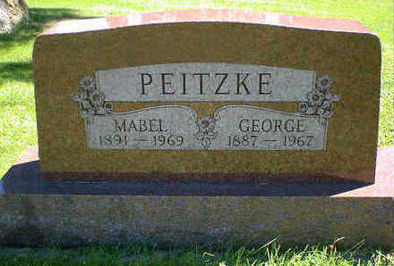 PEITZKE, GEORGE - Cerro Gordo County, Iowa | GEORGE PEITZKE