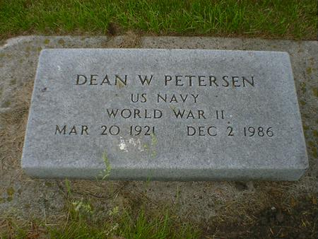 PETERSEN, DEAN W. - Cerro Gordo County, Iowa | DEAN W. PETERSEN