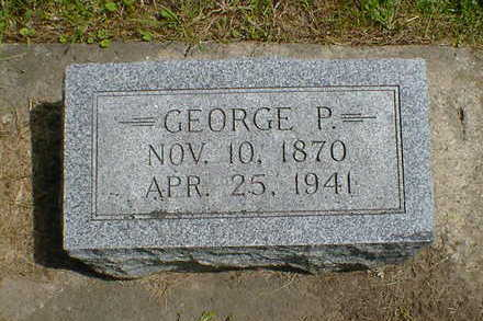 PETERSEN, GEORGE P. - Cerro Gordo County, Iowa | GEORGE P. PETERSEN