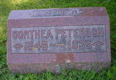 PETERSON, DOROTHEA - Cerro Gordo County, Iowa | DOROTHEA PETERSON